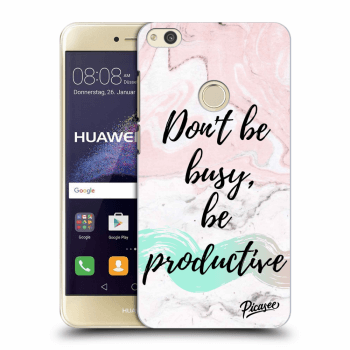 Obal pro Huawei P9 Lite 2017 - Don't be busy, be productive