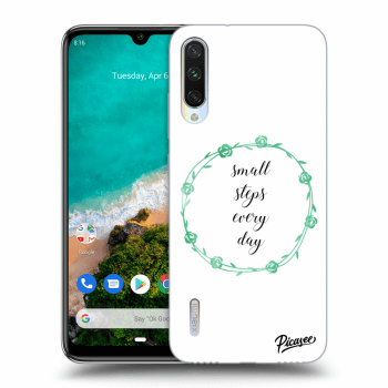 Obal pro Xiaomi Mi A3 - Small steps every day