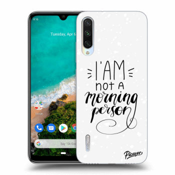 Obal pro Xiaomi Mi A3 - I am not a morning person