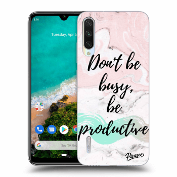 Obal pro Xiaomi Mi A3 - Don't be busy, be productive