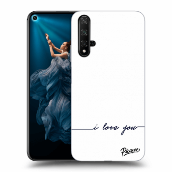 Obal pro Honor 20 - I love you