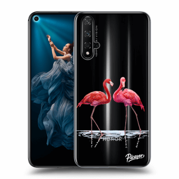 Obal pro Honor 20 - Flamingos couple