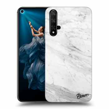 Obal pro Honor 20 - White marble