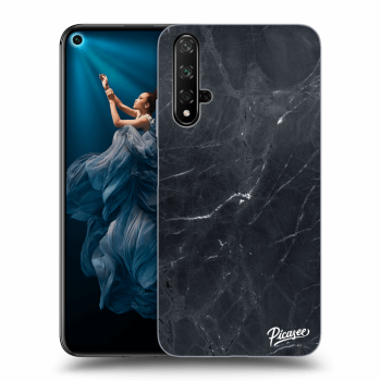 Obal pro Honor 20 - Black marble