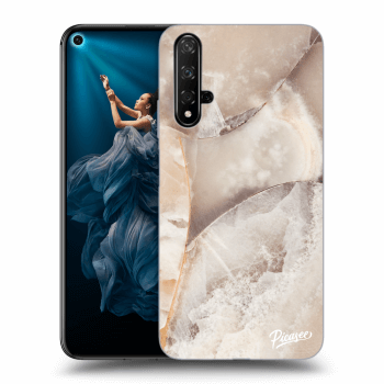 Obal pro Honor 20 - Cream marble