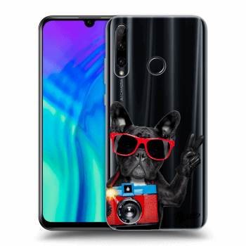 Obal pro Honor 20 Lite - French Bulldog