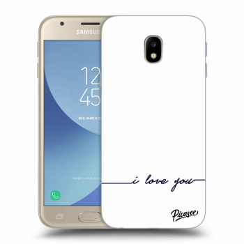 Obal pro Samsung Galaxy J3 2017 J330F - I love you