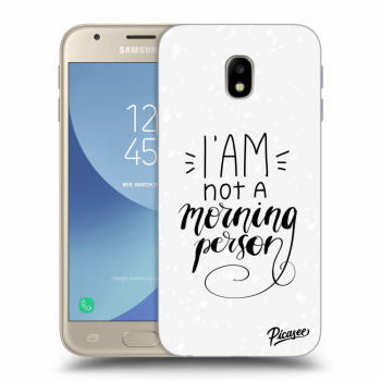 Obal pro Samsung Galaxy J3 2017 J330F - I am not a morning person