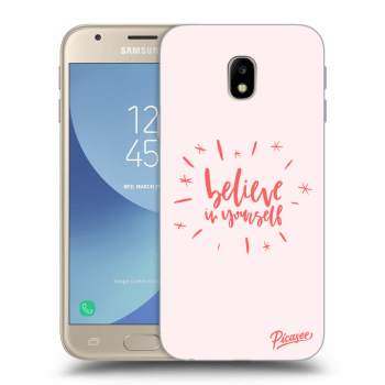 Obal pro Samsung Galaxy J3 2017 J330F - Believe in yourself