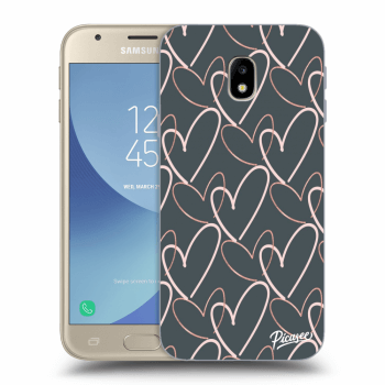 Obal pro Samsung Galaxy J3 2017 J330F - Lots of love