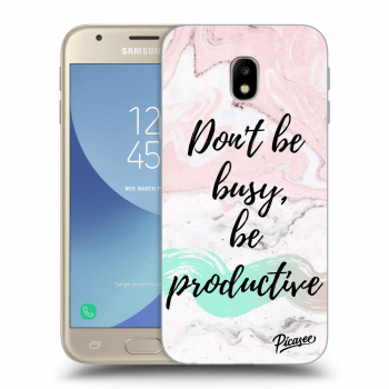 Obal pro Samsung Galaxy J3 2017 J330F - Don't be busy, be productive