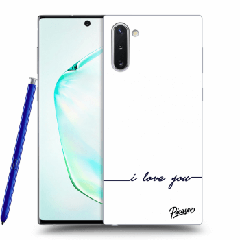 Obal pro Samsung Galaxy Note10 N970F - I love you