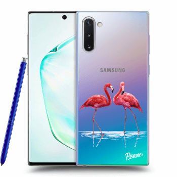 Obal pro Samsung Galaxy Note10 N970F - Flamingos couple
