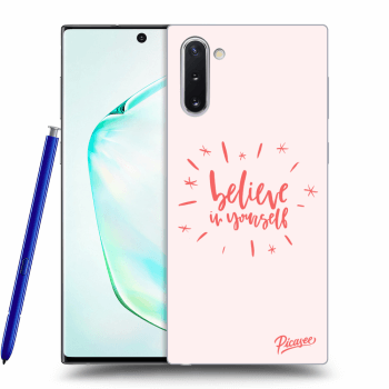 Obal pro Samsung Galaxy Note10 N970F - Believe in yourself