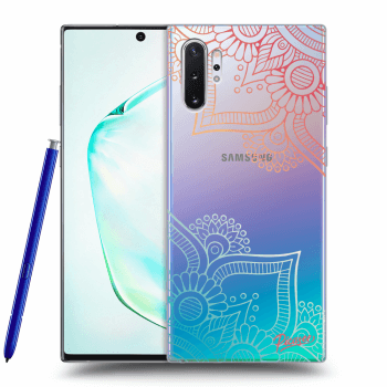 Obal pro Samsung Galaxy Note10+ N975F - Flowers pattern
