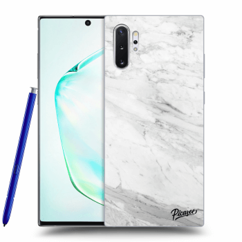 Obal pro Samsung Galaxy Note 10+ N975F - White marble
