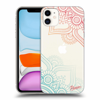 Obal pro Apple iPhone 11 - Flowers pattern