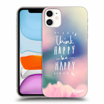 Obal pro Apple iPhone 11 - Think happy be happy