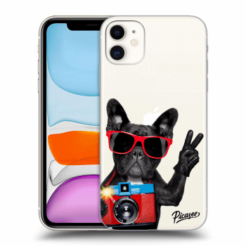 Obal pro Apple iPhone 11 - French Bulldog