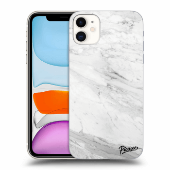 Obal pro Apple iPhone 11 - White marble