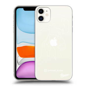 Obal pro Apple iPhone 11 - Forehead kiss White