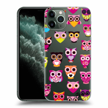 Obal pro Apple iPhone 11 Pro - Owls