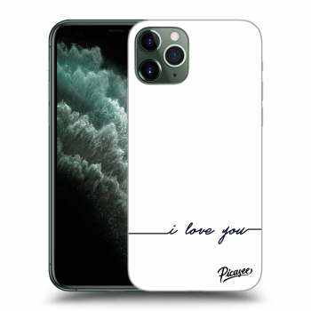 Obal pro Apple iPhone 11 Pro Max - I love you