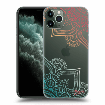 Obal pro Apple iPhone 11 Pro Max - Flowers pattern