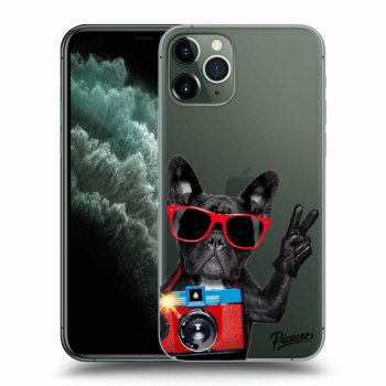 Obal pro Apple iPhone 11 Pro Max - French Bulldog