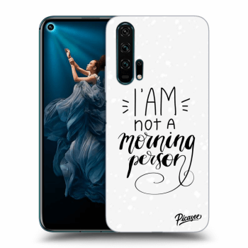 Obal pro Honor 20 Pro - I am not a morning person