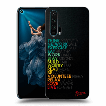 Obal pro Honor 20 Pro - Motto life