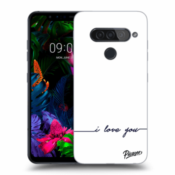 Obal pro LG G8s ThinQ - I love you