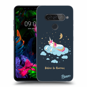 Obal pro LG G8s ThinQ - Believe In Unicorns