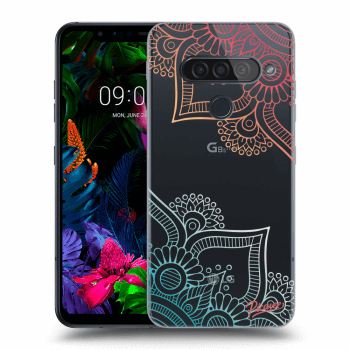 Obal pro LG G8s ThinQ - Flowers pattern