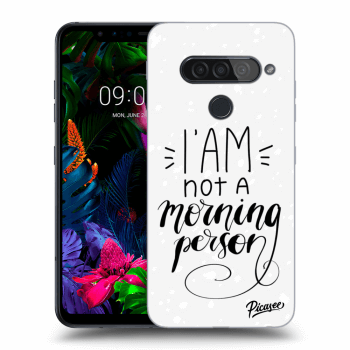 Obal pro LG G8s ThinQ - I am not a morning person