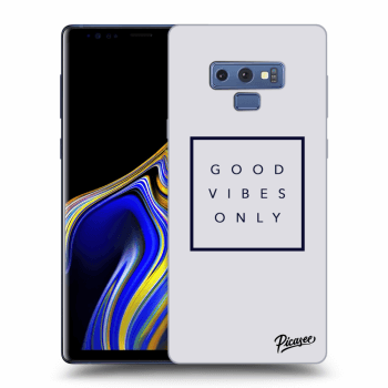 Obal pro Samsung Galaxy Note 9 N960F - Good vibes only