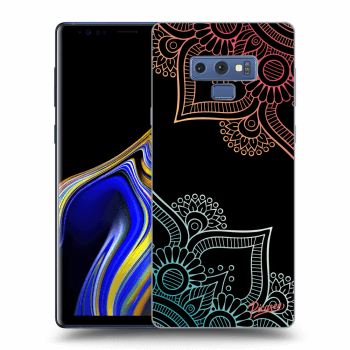 Obal pro Samsung Galaxy Note 9 N960F - Flowers pattern