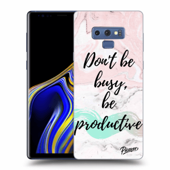 Obal pro Samsung Galaxy Note 9 N960F - Don't be busy, be productive