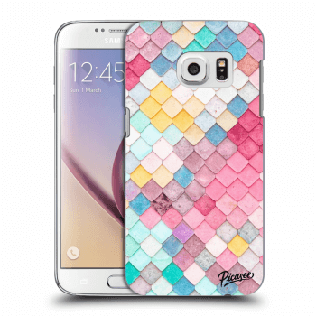 Obal pro Samsung Galaxy S7 G930F - Colorful roof