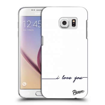 Obal pro Samsung Galaxy S7 G930F - I love you