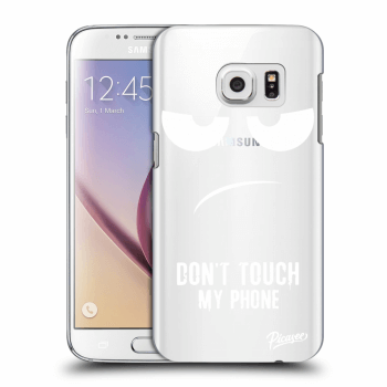 Obal pro Samsung Galaxy S7 G930F - Don't Touch My Phone
