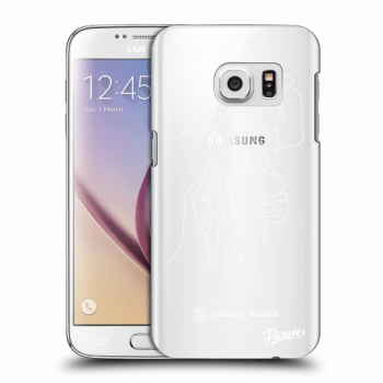Obal pro Samsung Galaxy S7 G930F - Forehead kiss White
