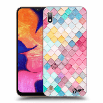 Obal pro Samsung Galaxy A10 A105F - Colorful roof