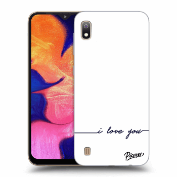Obal pro Samsung Galaxy A10 A105F - I love you