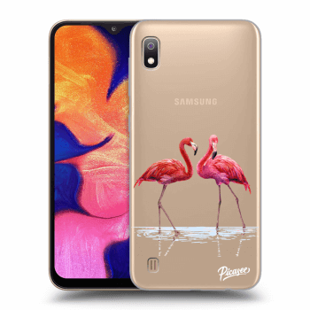 Obal pro Samsung Galaxy A10 A105F - Flamingos couple