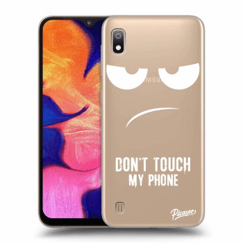 Obal pro Samsung Galaxy A10 A105F - Don't Touch My Phone