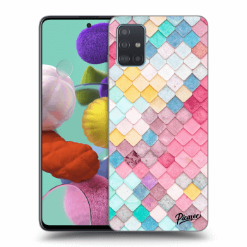 Obal pro Samsung Galaxy A51 A515F - Colorful roof