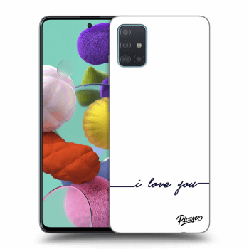 Obal pro Samsung Galaxy A51 A515F - I love you