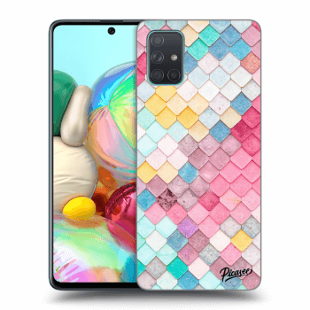 Obal pro Samsung Galaxy A71 A715F - Colorful roof