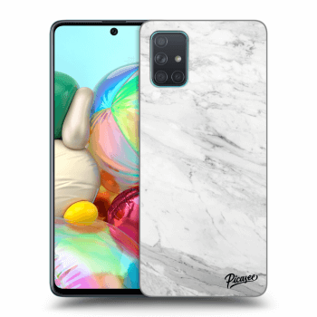 Obal pro Samsung Galaxy A71 A715F - White marble